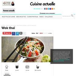 Wok thaï, facile et pas cher