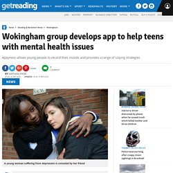 Wokingham group develops app to help teens with mental health issues