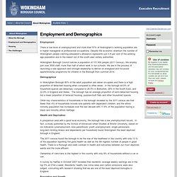 Wokingham Borough Council Excutive Recruitment