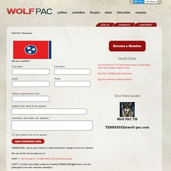 Wolf-PAC Tennessee