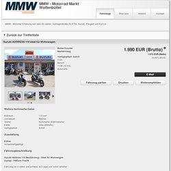 MMW in Wolfenbüttel - Vertragshändler-KTM, Vertragshändler-Kymco, Vertragshändler-Suzuki, Vertragshändler-Peugeot