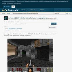 Comment DOOM et Wolfenstein affichaient leurs graphismes