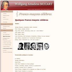 Wolfgang Amadeus Mozart (Salzburg 1756 - Vienne 1791) : Quelques