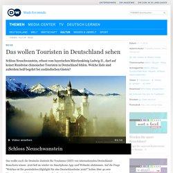 Das wollen Touristen in Deutschland sehen - DW.11.2016