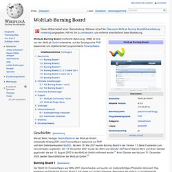 WoltLab Burning Board