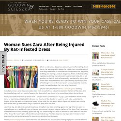 Woman Sues Zara After Being Injured by Rat-Infested Dress
