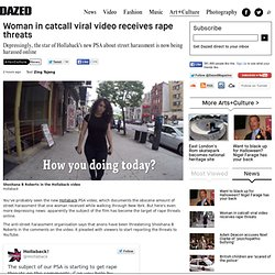 Woman in catcall viral video receives rape threats
