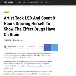 Woman Draws 11 Self-Portraits While High On LSD