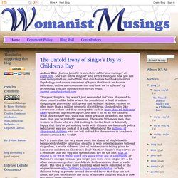 Womanist Musings