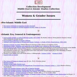 Women & Gender Issues : Islam