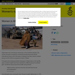 Women in Afghanistan: the back story