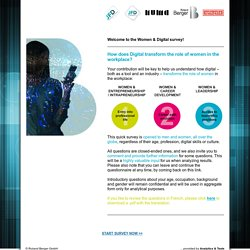 Women and Digital Survey