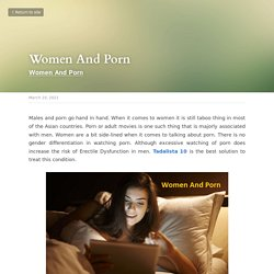 Women And Porn