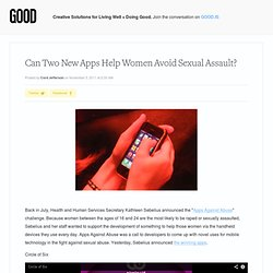 Can Two New Apps Help Women Avoid Sexual Assault? - Technology