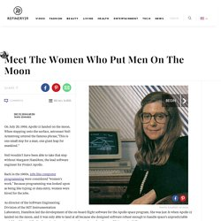 Women Behind The Apollo Moon Landing
