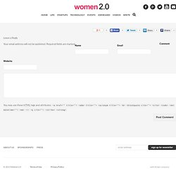 Women 2.0 - Founding Startups » Never Been a Better Time for Women Entrepreneurs