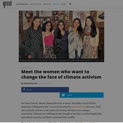 Meet the women who want to change the face of climate activism