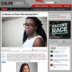 14 Women of Color Who Rocked 2014