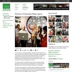 Women in Computing Gallery opens