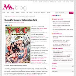 Women Who Conquered the Comic Book World