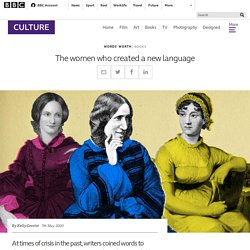 The women who created a new language - BBC Culture