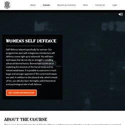 Women's Self Defence