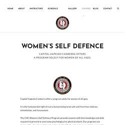 Women's Self Defense Program in Australia
