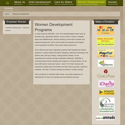NGO for Women Development in India