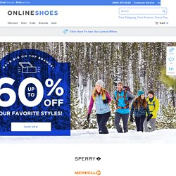 OnlineShoes.com: Lots of narrows!
