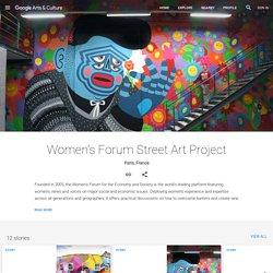 Women's Forum Street Art Project