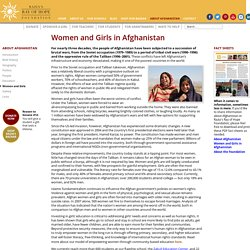 Women and Girls in Afghanistan — Razia's Ray of Hope