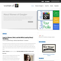 Women of Google+