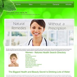 Women's Health Search Directory