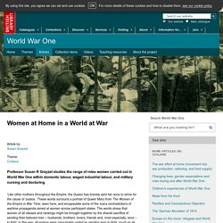 Women at Home in a World at War