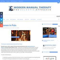 Modern Manual Therapy Blog