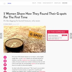 5 Women Share How They Found G-Spot for 1st Time