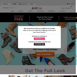 Women's Shoes and Handbags from JustFabulous - JustFab.com