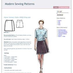 Skirts :. #5063 Wrap skirt