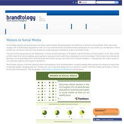 Women in Social Media | Brandtology