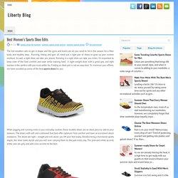 Best Women's Sports Shoe Edits