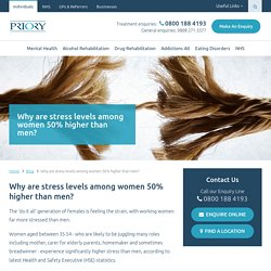 Why are women more stressed than men?