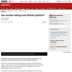 Are women taking over British politics? - BBC News