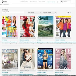 Womens Magazines | Zinio - The World's Largest Newsstand
