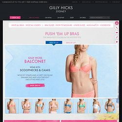 Gilly Hicks - Shop Official Site