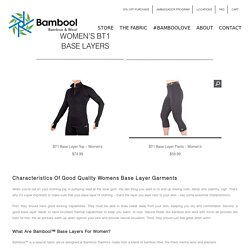 Womens Base Layer Pants & Tops