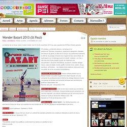 Wonder Bazart 2013 (St Paul)