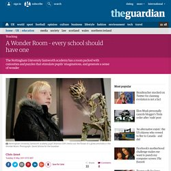 A Wonder Room – every school should have one