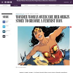 Wonder Woman's a Feminist Icon Now—Despite the Comic Books