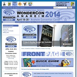 WonderCon 2010 :: What's New
