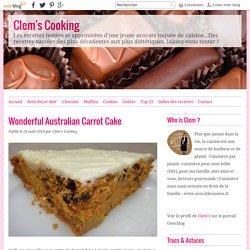 Wonderful Australian Carrot Cake